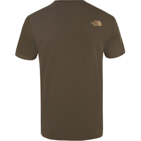 The North Face Mountain Line T-shirt Homme, new taupe green